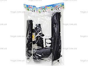 Игрушечный пистолет на пульках с глушителем, M93-3+, игрушки