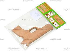 Деревянный пистолет «Магнум 2000», 171921у, игрушки