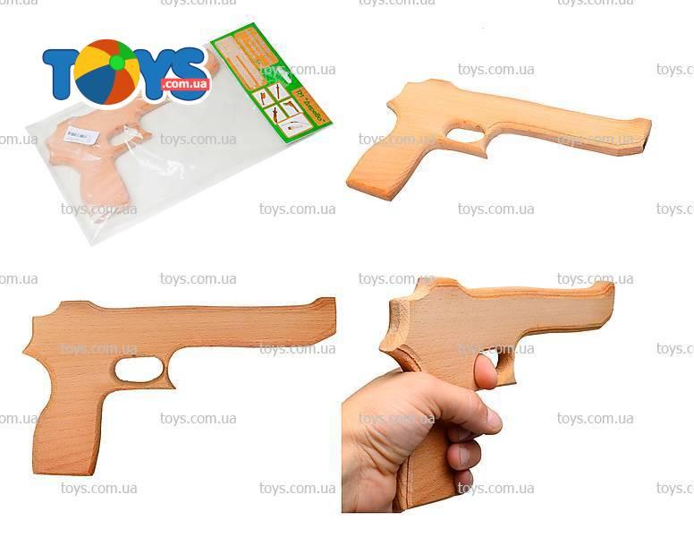 """Деревянный пистолет Магнум """"Игла пустыни"""" - Іграшкові пістолети в інтернет-магазині Toys"""