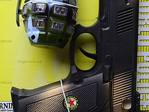 Детское механическое оружие с гранатой Team Freemen , 5510, фото