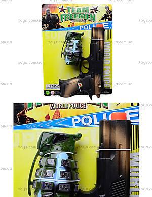 Детское механическое оружие с гранатой Team Freemen , 5510