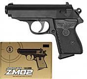 Пистолет металлический ZM02, ZM02, отзывы