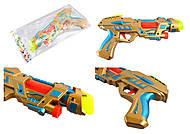 Пистолет музыкальный, со светом, в ассортименте, 2015B, купить
