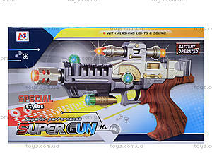 Музыкальный пистолет Super Gun, 3305, отзывы