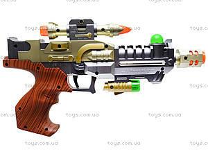 Музыкальный пистолет Super Gun, 3305, игрушки