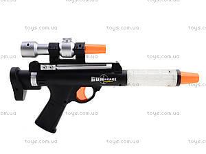 Музыкальный пистолет со световыми эффектами, 0139C, игрушки