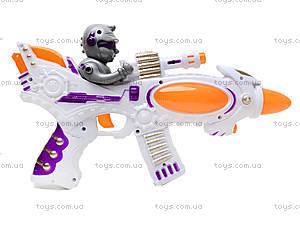 Музыкальный пистолет Space, 8500-2A, игрушки