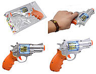 Музыкальный пистолет детский, 8955