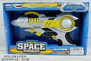 Пистолет музыкальный детский, YL816A2
