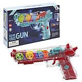 "Пистолет музыкальный ""Gear Light Gun"" YJ (YJ-Q001), YJ-Q001"
