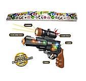 Пистолет музыкальный со светом, H833A, фото
