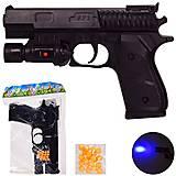 Пистолет на пульках 17 см (SP1-C+), SP1-C+