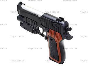 Игровой пистолет с пульками и лазером, P2117-G+, фото
