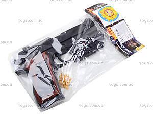 Игровой пистолет с пульками и лазером, P2117-G+, отзывы