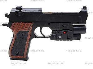 Игровой пистолет с пульками и лазером, P2117-G+, игрушки