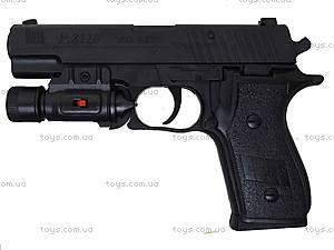 Пистолет с пульками и световыми эффектами, P2118-C+, купить