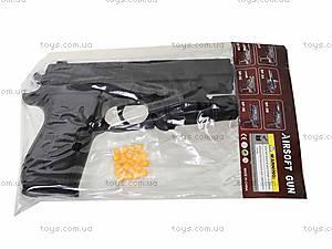 Пистолет с пульками и световыми эффектами, P2118-C+, отзывы