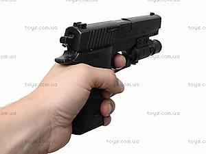 Пистолет с пульками и световыми эффектами, P2118-C+, цена
