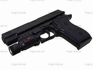 Пистолет с пульками и световыми эффектами, P2118-C+, детские игрушки