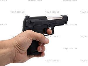 Игрушечный пистолет, с пульками в наборе, P308, фото