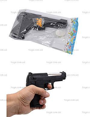 Игрушечный пистолет, с пульками в наборе, P308