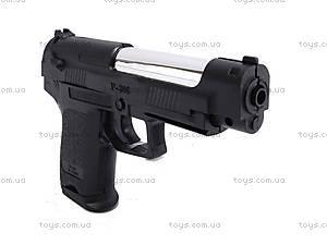 Игрушечный пистолет, с пульками в наборе, P308, детские игрушки