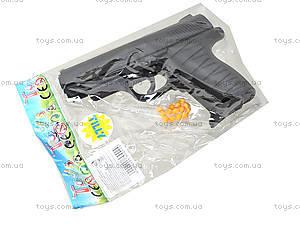 Детский пистолет с комплектом пулек, P328, цена