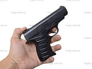Детский пистолет с комплектом пулек, P328, игрушки
