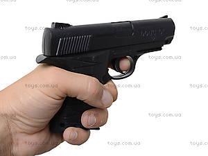 Детский пистолет с комплектом пулек, P328, toys.com.ua