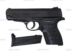 Детский пистолет с комплектом пулек, P328, toys