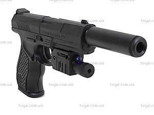 Цветной пистолет с пульками и лазером, P9A, купить