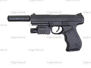 Цветной пистолет с пульками и лазером, P9A, детские игрушки