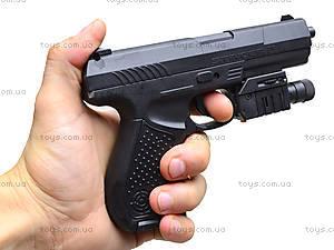 Детский пистолет с лазерным прицелом, P9B, фото