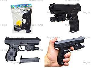 Детский пистолет с лазерным прицелом, P9B