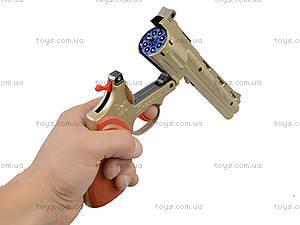 Игрушечный револьвер на пистонах, F4, фото