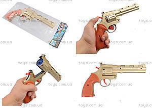 Игрушечный револьвер на пистонах, F4