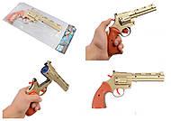 Игрушечный револьвер на пистонах, F4, отзывы