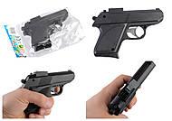 Детский пистолет под пульки для игры, 807, фото