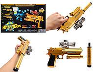 Игровой набор с пистолетом, пульками, очками, RX6008, купить