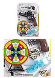 Пистолет с дартсом и лазерным прицелом, HY01112, купить