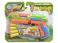 Пистолет с дартсом на планшетке, 555-2