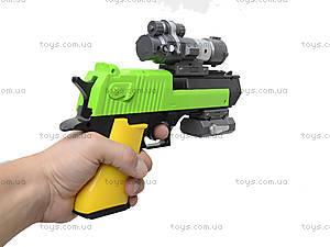 Детский пистолет с дартсом, SB222, игрушки