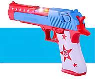 Пистолет с эффектами (звук, свет), S1208A