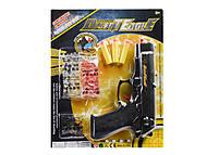 Пистолет и 2 вида пуль, 699-3, купить