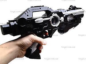Музыкальный пистолет с лазером, KT8688-F1A, купить