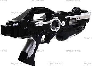 Музыкальный пистолет с лазером, KT8688-F1A, фото