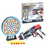 Пистолет с мишенью со световыми и звуковыми эффектами, 369-3