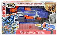 Пистолет с паралоновыми пулями «Орtimus prime», SB304, іграшки