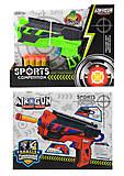 Пистолет с пулями в наборе, 1121, купить