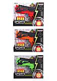 Пистолет с пулями в наборе, 1121, игрушки